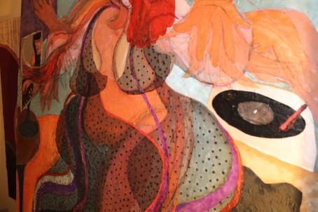 Night detail of, 'Electro Dancer'