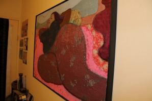 Studio photo of 'Fleur reclining'