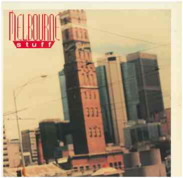 288. 'Melbourne Stuff ' compilation album, record cover,1987