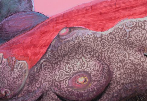 detail of 'Belinda interior'