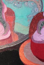 13. Detail of 'Her Space'