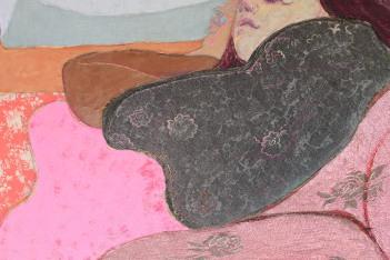 18. Detail of 'Fleur reclining'
