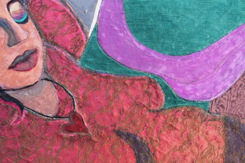 22. Detail of 'Voluptuous'