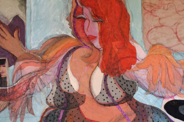 Detail of 'Electro dancer'