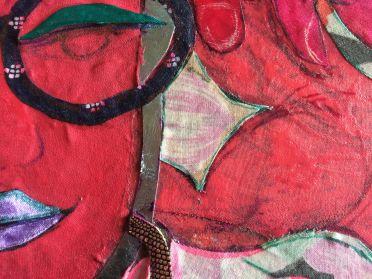 Detail 3- 'Red Goddess' 2020