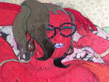 Detail 1: 'Red Goddess' 2020
