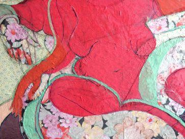 Detail 2- 'Red Goddess' 2020