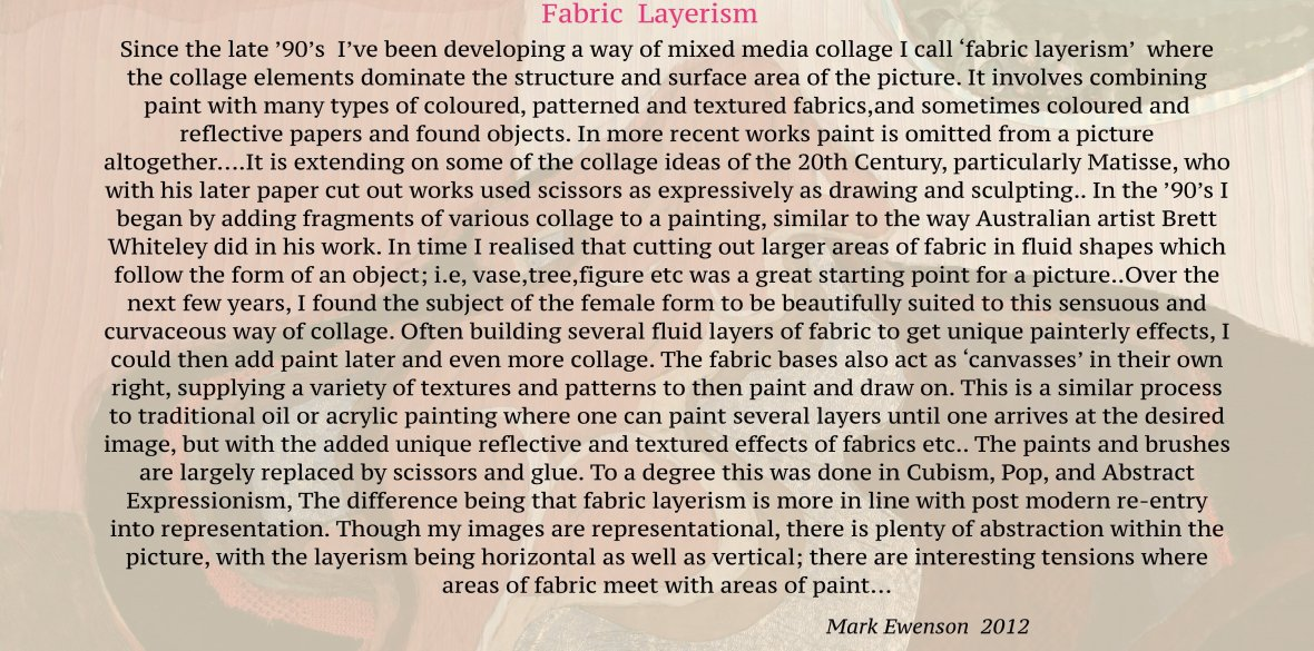 Fabric Layerism 2012