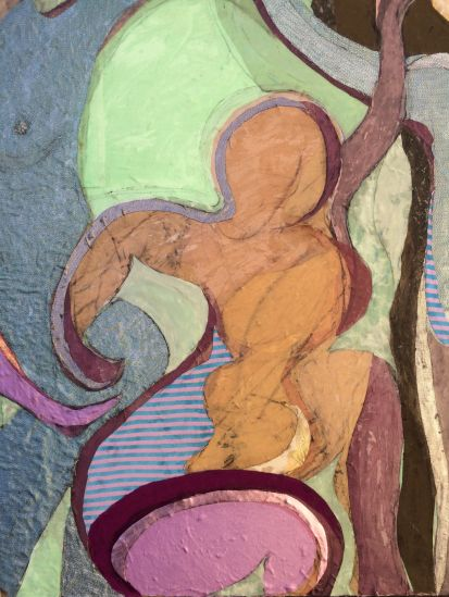 Detail of 'Neon Shadows'