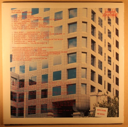 298.'Melbourne Stuff'compilation album,1987- back cover