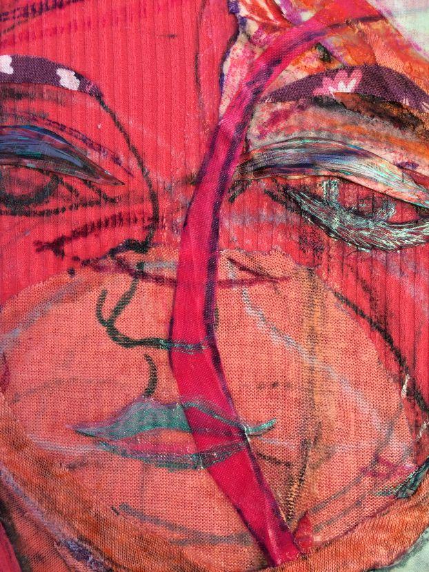 Detail; 'Eva the Dancer' 2019-20
