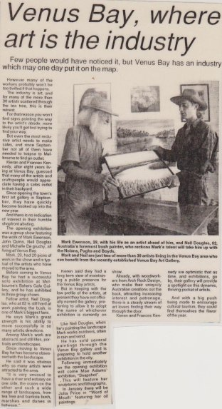 208.Article with Neil Douglas 1993