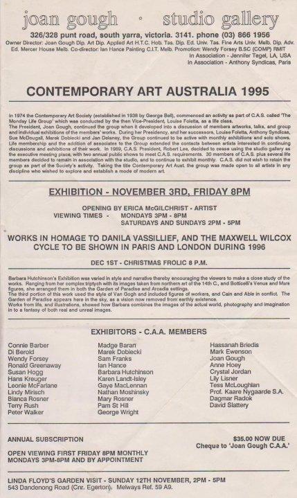 202. Contemporary Art Australia, 1995