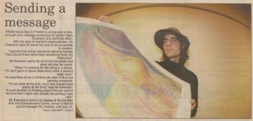 Leader newspaper(front page) 1997