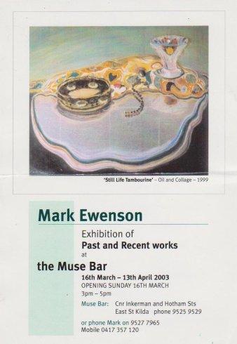Muse Bar, 2003
