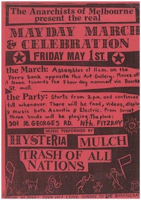 285. 'Mulch' - Fire Station,May 1988