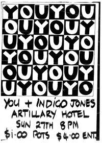 296.'You' 1990, Melbourne